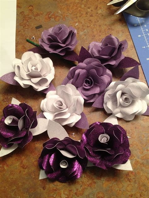 Make Paper Flowers Scrapbooking - scrapbook paper flowers my creations
