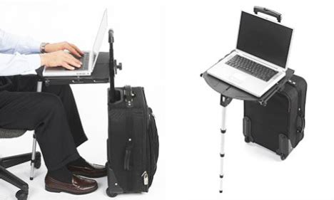 travel desk portable travel desk ubergizmo