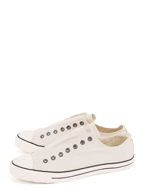 slip on sneaker for converse slip on sneaker in white for lyst