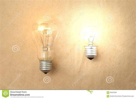 bright light bulbs dim and bright light bulbs stock photo image 59225369