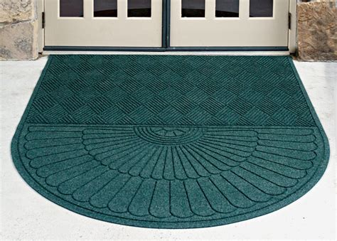 Carpet Entrance Mats by Waterhog Grand Classic Indoor Outdoor Oval Shaped Entrance