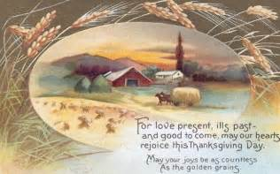 thanksgiving blessings printable antique postcard knick of time