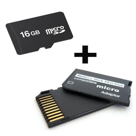 Memory Pro Duo 16 Gb Psp memory stick pro duo 16gb micro sd psp camaras envio