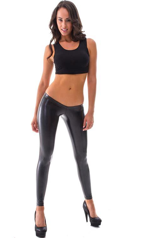 Legging Bayi Kode Xs C womens low rise fashion tights in black