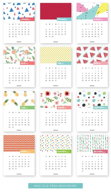 Or Free 2017 1000 Ideas About 2017 Calendar Printable On
