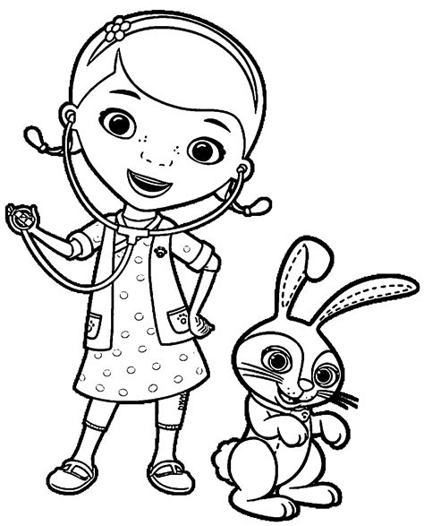 doc mcstuffins coloring page doc mcstuffin coloring pages coloringsuite