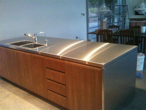 stainless kitchen bench idea 18261 posted by liam jones build