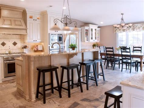country kitchen islands with seating photo page hgtv