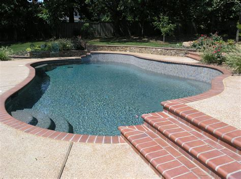 swimming pool accents custom pool tile design coping