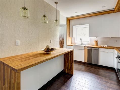 butcher block kitchen countertops photos hgtv