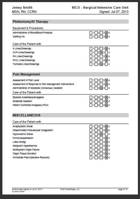 sle nursing skills checklist 187 bluepipes