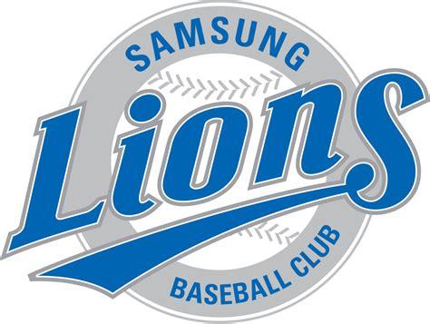 Kaos Baseball Samsung Lions Logo 3 samsung lions
