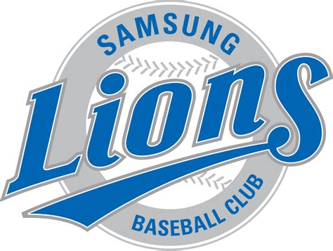 Kaos Baseball Samsung Lions Logo 2 by Samsung Lions