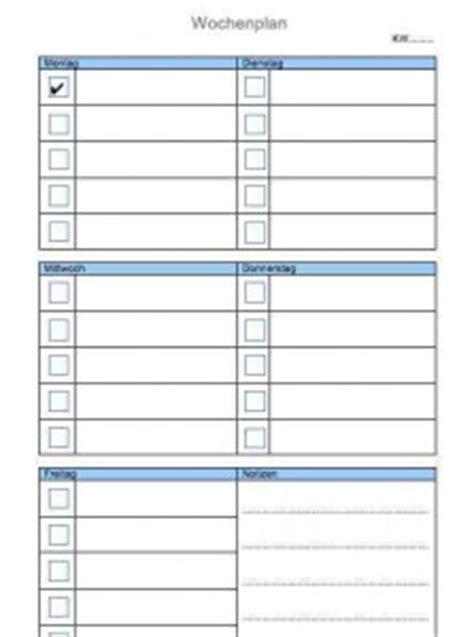Word Vorlage Journal wochenplan vorlage muster und vorlagen