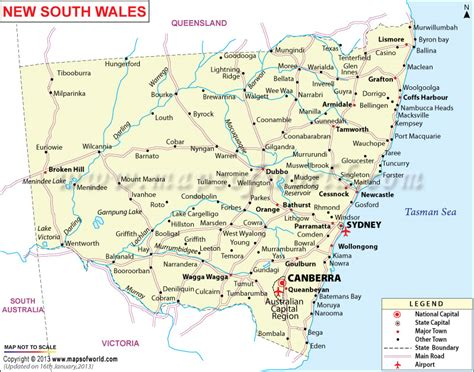 printable nsw road map new south wales map family pinterest south wales map