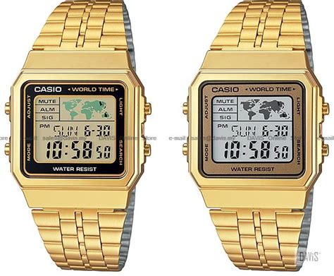 Casio Digital A500wga 9 Original Gold casio a500wga standard digital world end 4 20 2018 1 59 pm