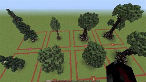 custom tree minecraft custom trees