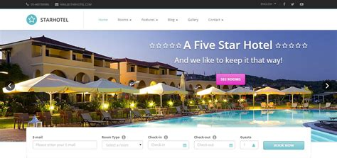 bootstrap templates for hotel reservation 18 best hotel wordpress themes 2017 themecot