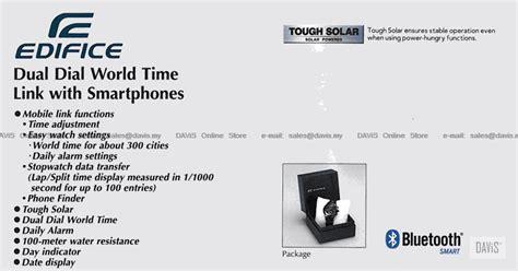 Casio Edifice Original Pria Eqb 500db 2a Bluetooth Series casio eqb 500d eqb 500db eqb 500dc end 2 19 2019 11 59 pm