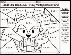 Hard multiplication coloring worksheets multiplication color sheet