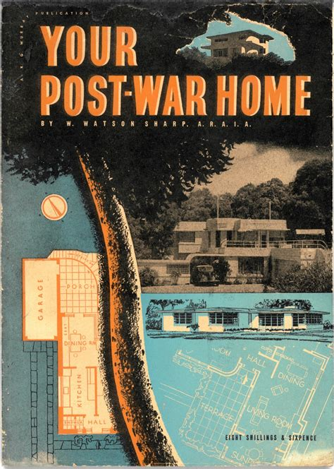 post war sydney home plans    sydney living