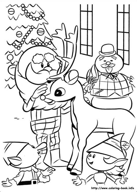 christmas coloring pages rudolph red nosed reindeer 27 best frosty images on pinterest adult coloring