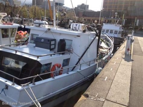 fishing boats for sale tas used tom tucker 50 tas timber fishing boat quot katie louise