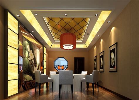Ceiling Light For Dining Room Living Dining Room Design Ceiling And Lighting Design 3d House Free 3d House Pictures And