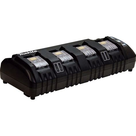 makita 18 volt lithium ion charger makita 18 volt lithium ion 4 port charger dc18sf the