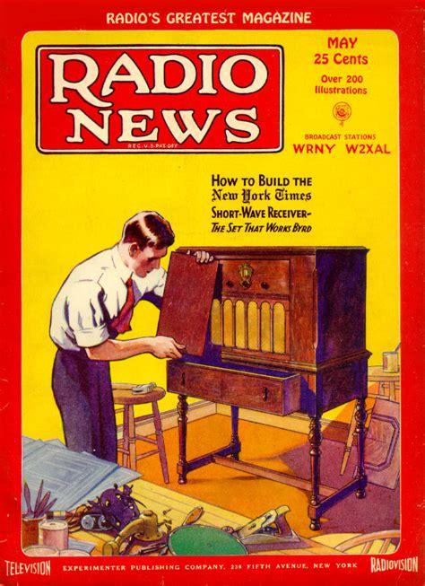 news magazine radio news magazine may 1929