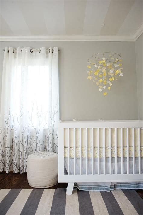 Yellow And Grey Nursery Decor For When I Have Babies Yellow And Grey Nursery Curtains