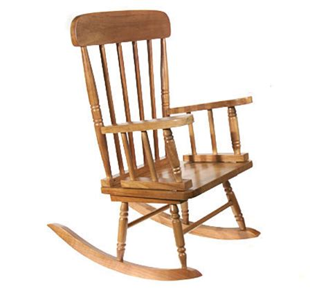 Handcrafted Rocking Chairs - pacconi children s handcrafted rocking chair qvc