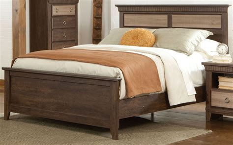 weatherly couches weatherly textured two tone queen panel bed from standard
