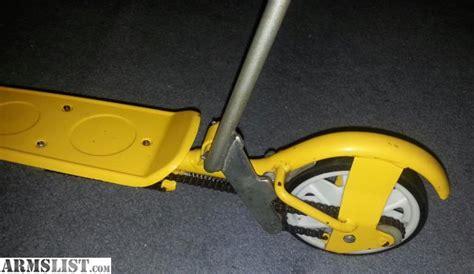 Honda Kick N Go by Armslist For Sale Honda Kick N Go Scooter Yellow Light