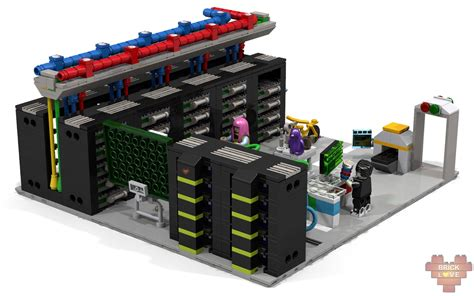 Lego Brick Now Carries Data by Lego Ideas Data Centre Quot Bits And Bricks Quot The Minifigs