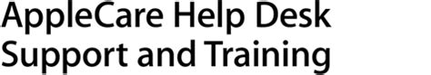 Help Desk Support Courses by Support Applecare Help Desk Support Apple Ca