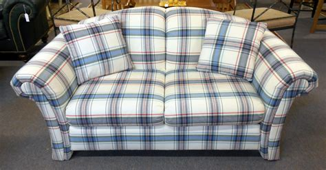 plaid couches loveseats couch sofa ideas interior design sofaideasnet