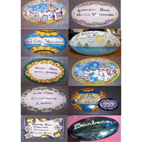 piastrelle personalizzate placchette personalizzate varie misure ceramiche vietri