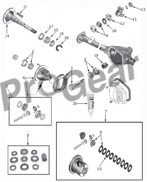 diagram of rear differential ford f 150 rear axle diagram