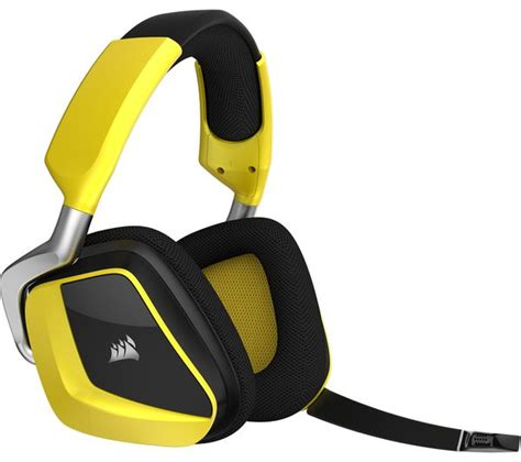 Corsair Void Wireless Yellowjacket Special Edition Gaming Headset buy corsair void pro special edition wireless 7 1 gaming headset yellow black free