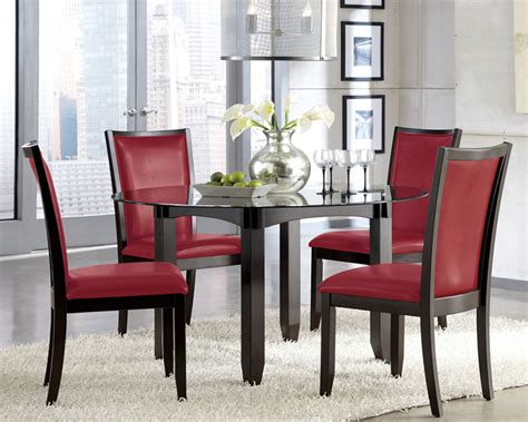red dining room set red dining table set fiin info