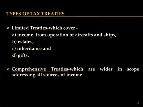 section 90 of income tax act international taxation presentation