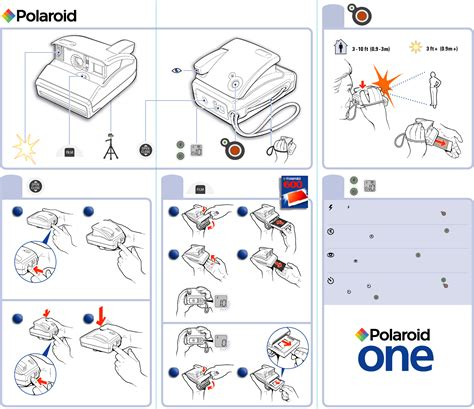 one user manual polaroid digital instant user guide
