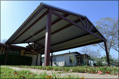 Car Port Roofing by Metal Roof Carports Exle Pixelmari