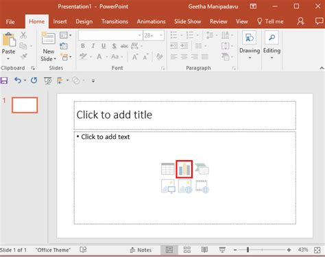 inserting charts in powerpoint 2007 for windows inserting charts in powerpoint 2016 for windows