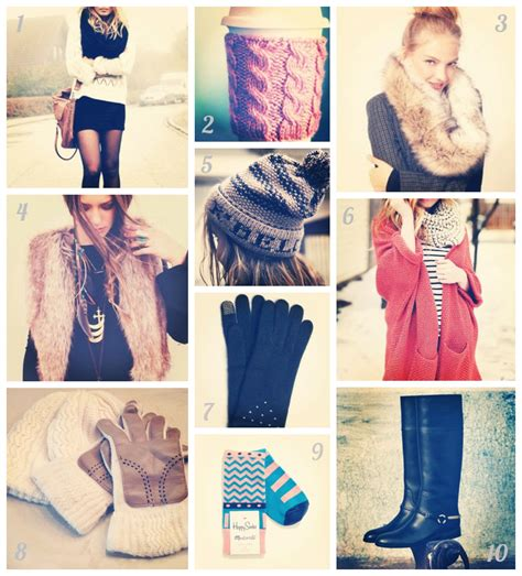 10 Must Winter Accessories by Style Friday Top 10 Winter Accessories Kansas City