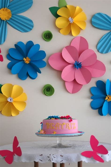 Flower Ideas With Paper - 50 creative and useful paper flower ideas