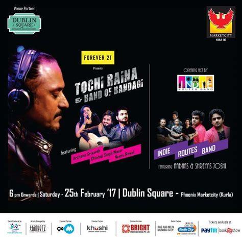 bookmyshow korum tochi raina is all set to enthrall mumbaikars with his