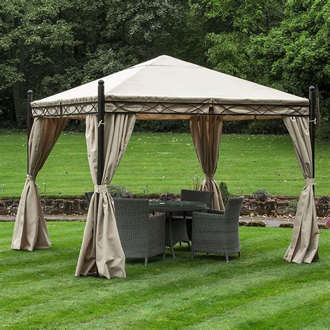 gazebo 3x3 3m x 3m waterproof canopy only frame and