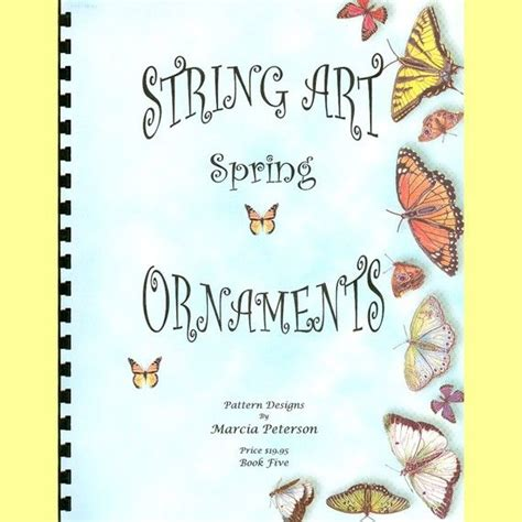 The Beautiful String Book Pdf - string pattern book five 8 patterns in pdf
